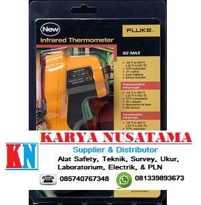 Jual Fluke 62 Max Plus Infrared Thermometer Negative 30 °C to 500 °C di Padang