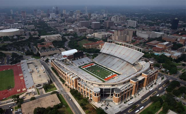 10 Darrell K Royal-Texas Memorial Stadium