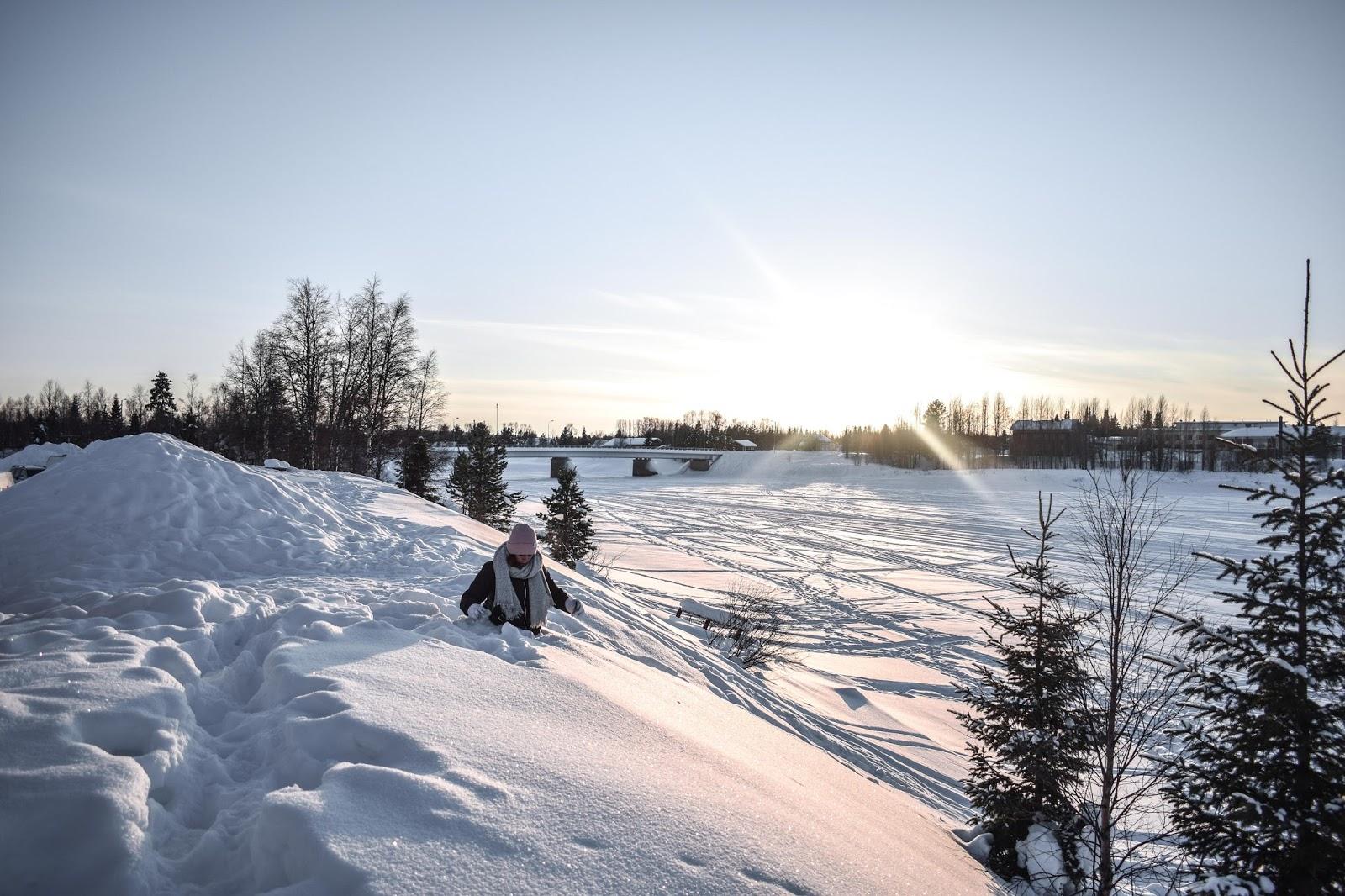 neige paysage