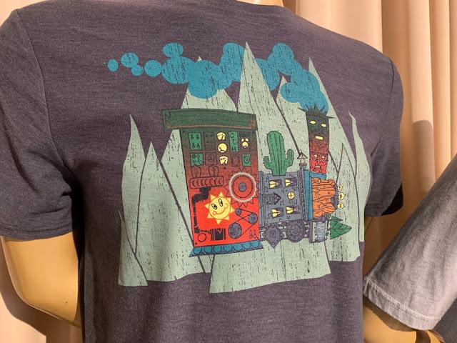 Merchandise Imagineer-Designed Mickey & Minnie's Runaway Railway Artist Series T-Shirts