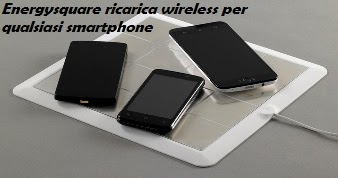 Ricarica Wireless per Smartphone