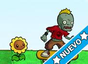 Plants Vs Zombies Skate juego
