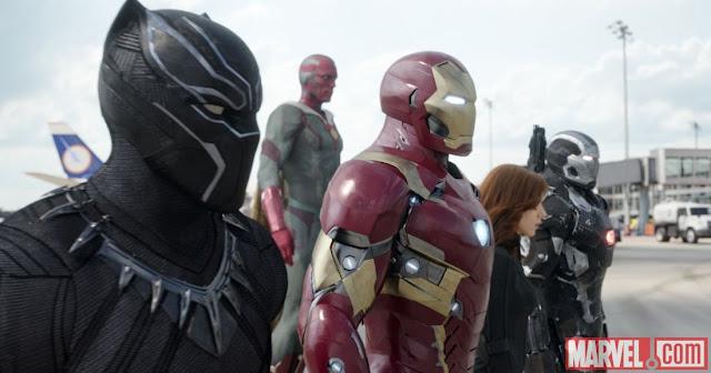 Guerra Civil | Pôsteres inéditos apresentam time do Homem de Ferro + Teasers antecipam novo trailer