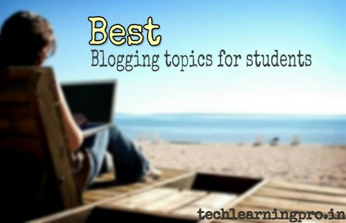 Best 5 blogging topics for students