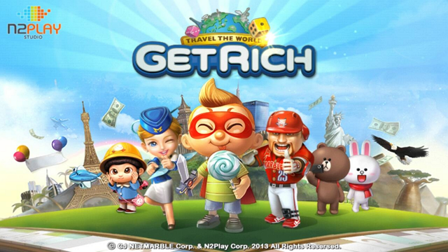Game Android LINE Lets Get Rich