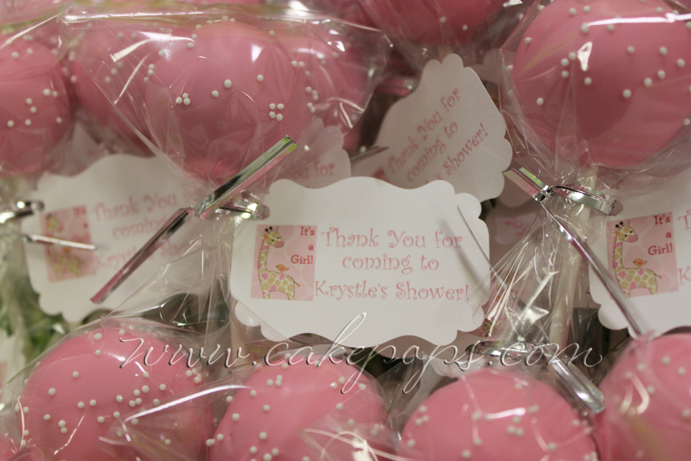 Candys Cake Pop Blog Tagged Baby Shower Favors Candys Cake Pops