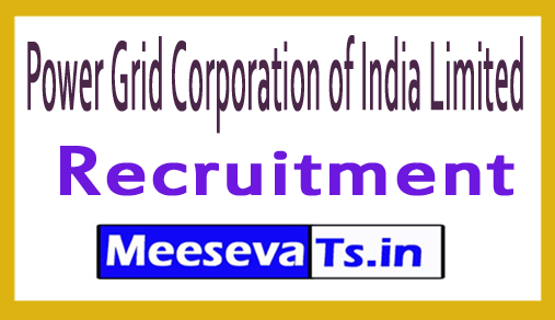 Power Grid Corporation of India Limited PGCIL Recruitment Notification