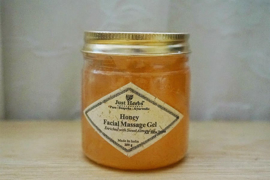 Just Herbs Honey Facial Massage Gel