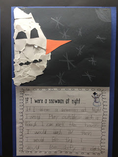 Snowmen at Night Graphic Organizer and Writing