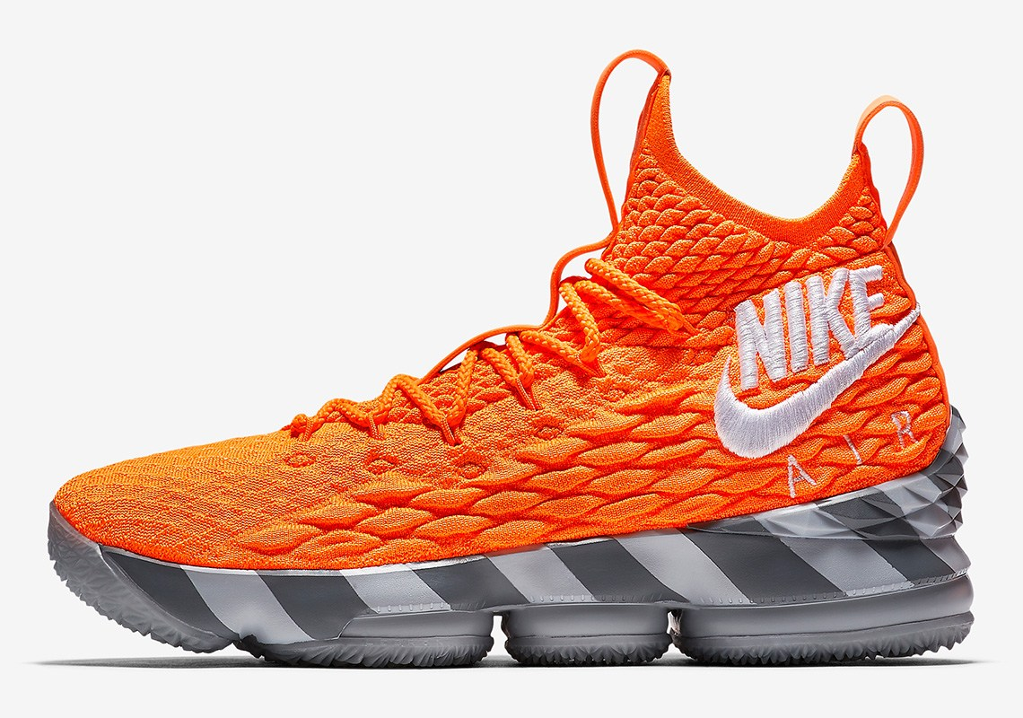 new style e0766 ef771 Nike Lebron 15  Orange Box