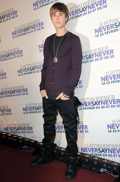 Paris Justin Bieber Evolution Styles