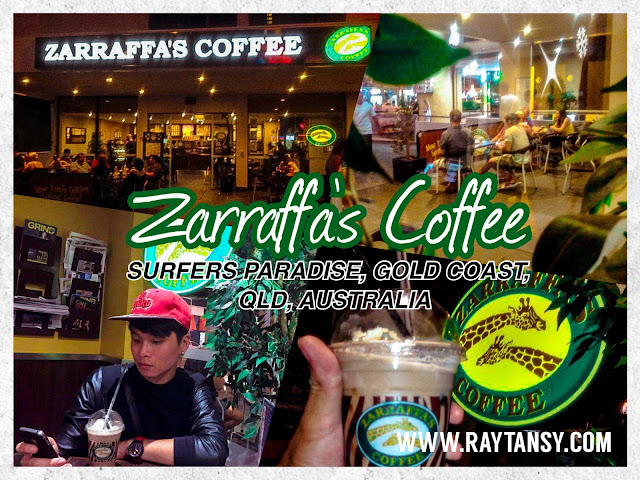 Ray Tan 陳學沿 (raytansy) ; Zarraffa's Coffee @ Surfers Paradise, Gold Coast, Queensland, Australia 黃金海岸 澳洲澳大利亞 昆士蘭