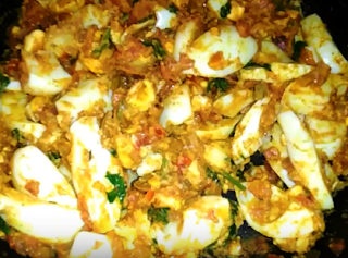 Egg Chaat Recipe - How to Make Egg Chaat Recipe at Home