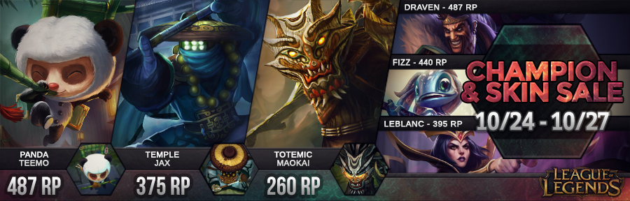 Surrender At 20 Champion And Skin Sale 1024 1027