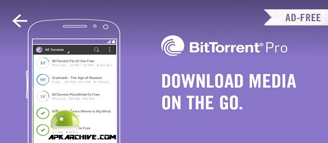 BitTorrent Pro v3.42.309-Pro Version