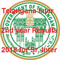 TS Inter 2nd year Results 2018 Manabadi, Telangana Sr Inter Results 2018