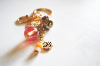 idee regalo portachiavi beads and wires