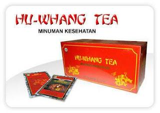Hu Whang Tea Obat Herbal Nasa Untuk  Asam Urat