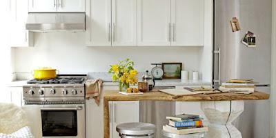 Dapur Minimalis Digabung Dengan Ruang Makan