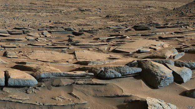 Cratera Gale em Marte