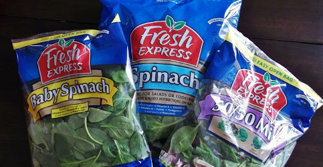 bagged greens