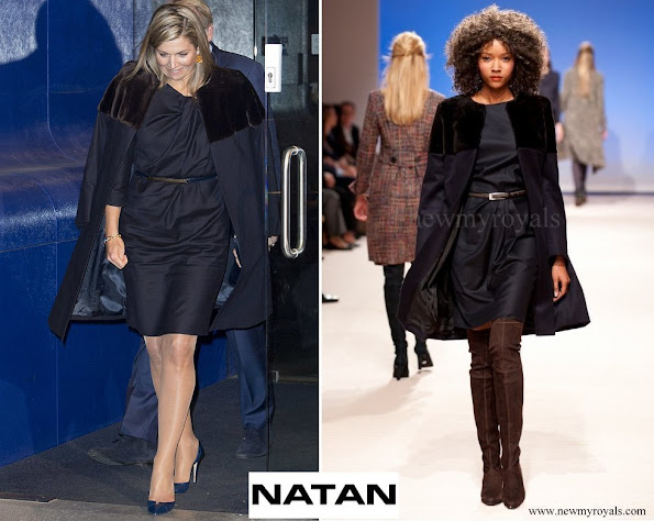 Queen Maxima wore Natan Coat and Dress