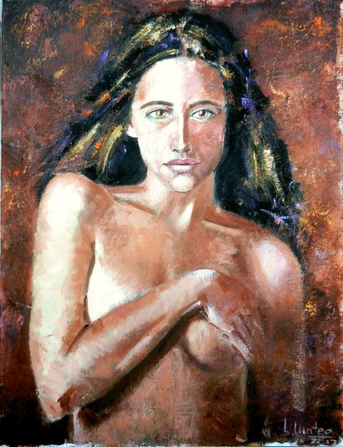 Современная испанская художница. Basi Mateo 7
