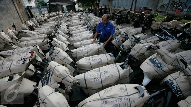 Kirim motor gratis untuk mudik lebaran.