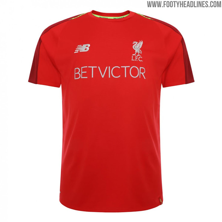 1e8b7bf77a6 Liverpool 18-19 Pre-Match and Training Kit Revealed - Footy Headlines