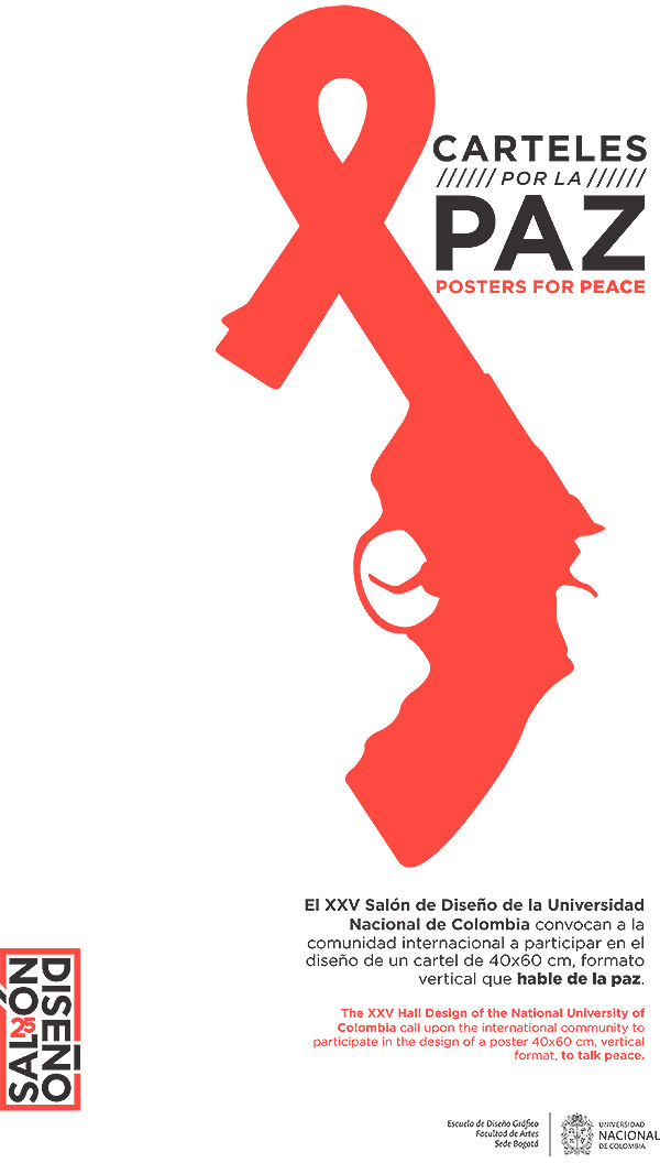 Convocatoria de diseño. Carteles por la paz