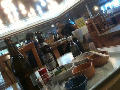 新日本海フェリー船内レストラン