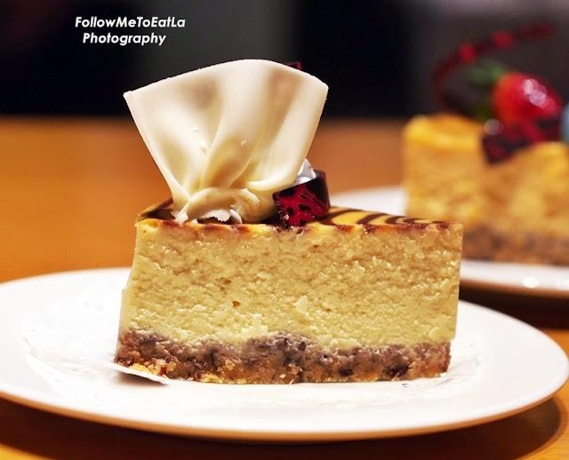 Durian Cheese Cake Slice RM 11.80 Nett