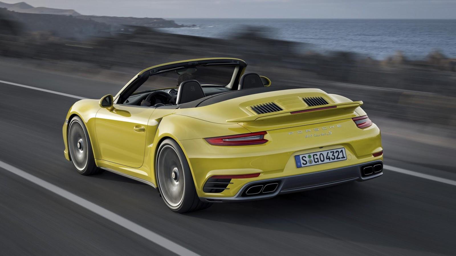 10: Porsche 911 Turbo S Cabriolet