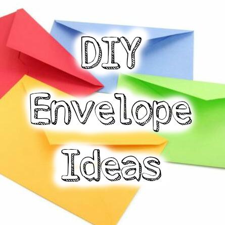 Justine's Cardmaking: DIY Decorating Envelopes #3