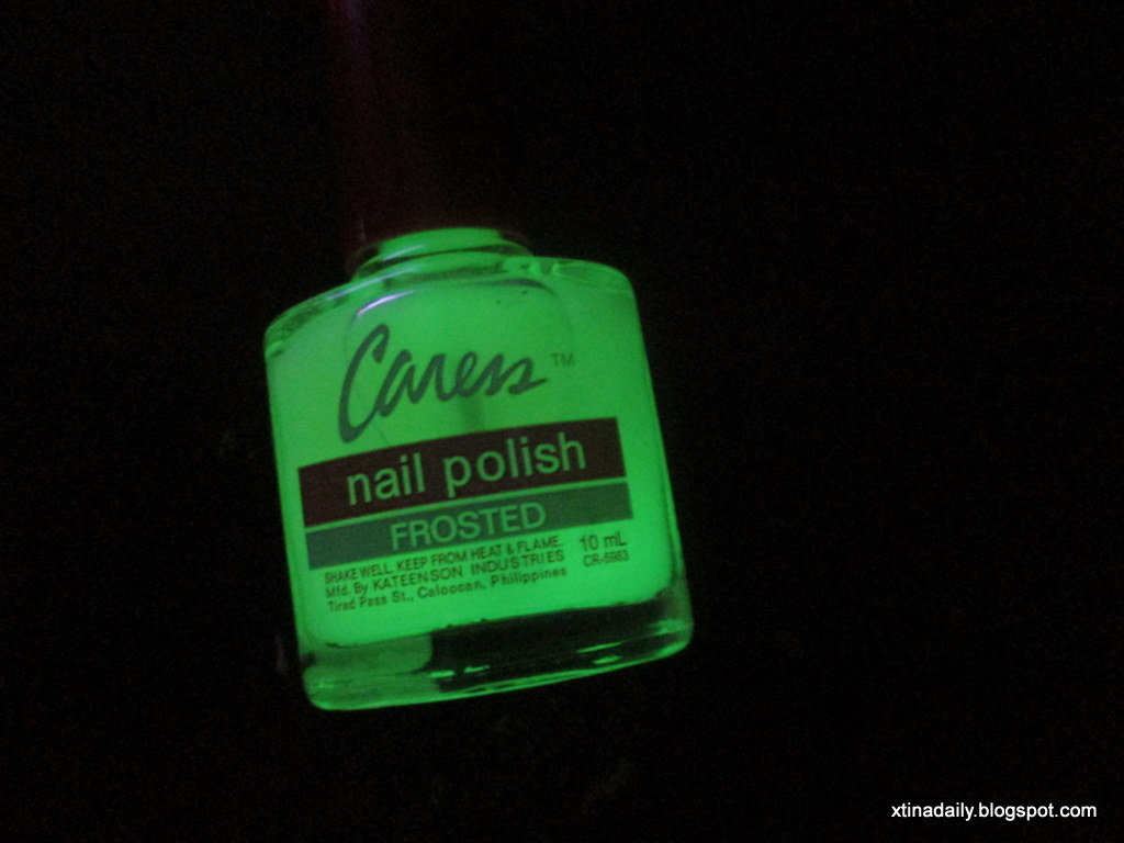 Caress\' Glow in the Dark Nail Polish | celebraTINg exisTENce