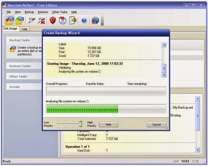 Download Macrium Reflect, Data Backup and Disk Cloning
