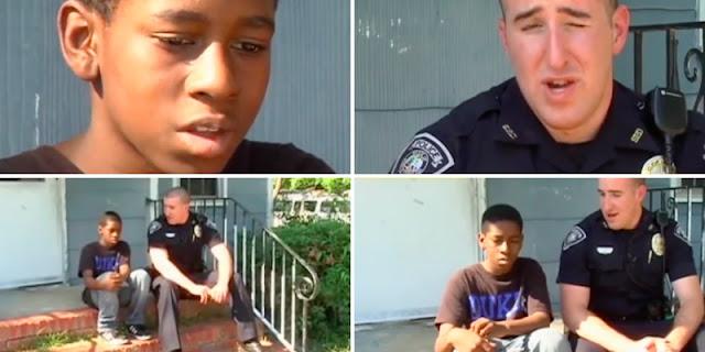 مراهق يتصل بالشرطة ويطلب طلباً غريباً والأغرب تصرف الشرطي معه!