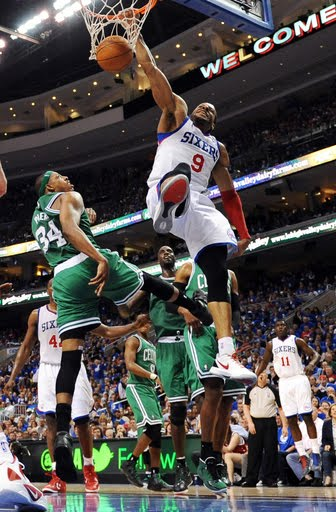 You Got Dunked On: 2012 NBA Playoffs: Andre Iguodala Dunks ...