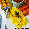 easy and perfect scrambled eggs