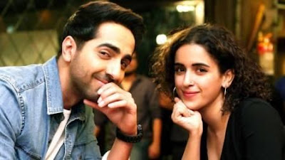 #instamag-ayushmann-khurrana-sanya-malhotra-celebrates-10-million-hits-on-badhaai-ho