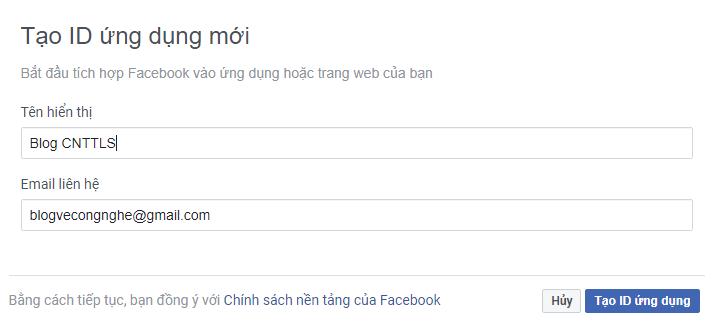 Cách thêm comment facebook vào blogspot