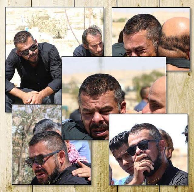 بالفيديو| منذر رياحنة ينهار أثناء وصول جثمان صديقه الفنان ياسر المصري
