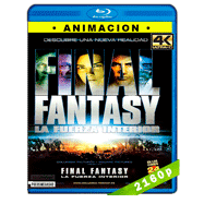 Final Fantasy: La fuerza interior (2001) HEVC H265 2160p Audio Dual Latino-Ingles