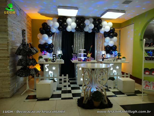 Decoração festa de aniversário Discoteca - Provençal simples