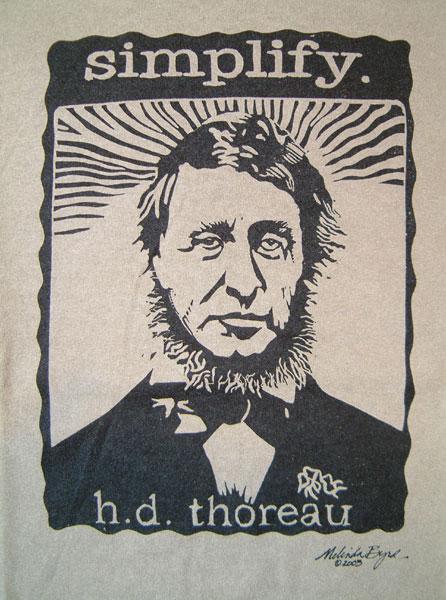 Henry David Thoreau Simplify