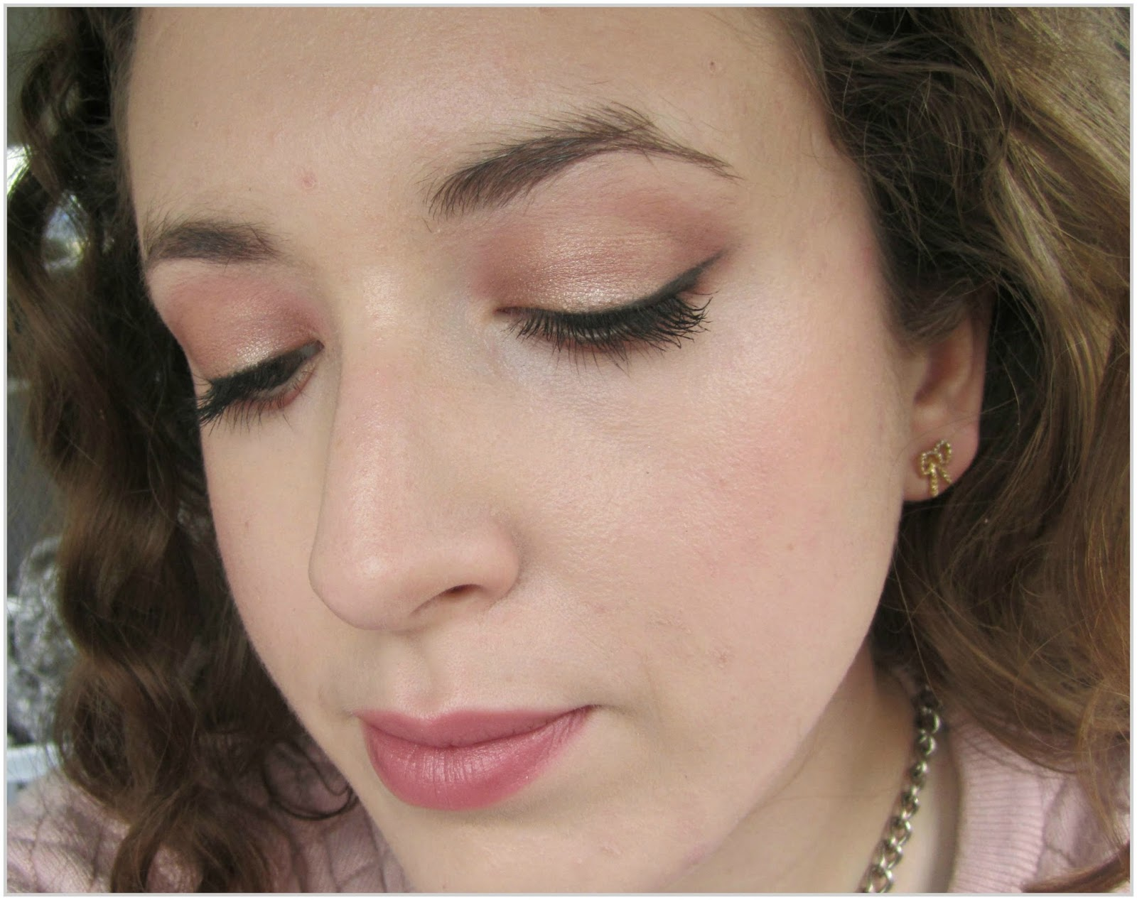 Of pearls prettiness and pages soft rose gold eyes simple soft rose gold eyes simple everyday makeup tutorial featuring lorac unzipped makeup revolution baditri Gallery