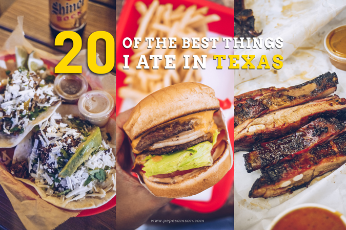 20 of the Best Things I Ate in Texas
