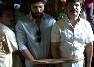 Allu Arjun And Boyapati Srinu Visited Simha Chalam Temple Photos