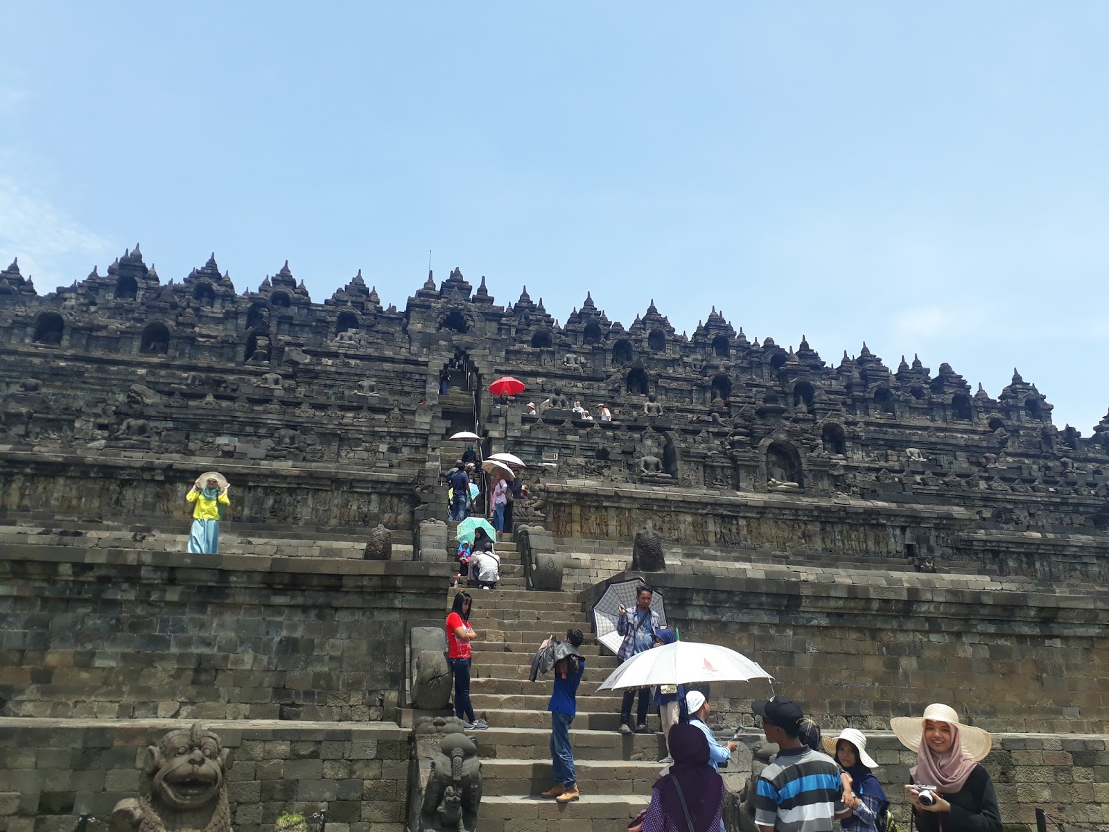 Traveling To Candi Borobudur Candi Prambanan