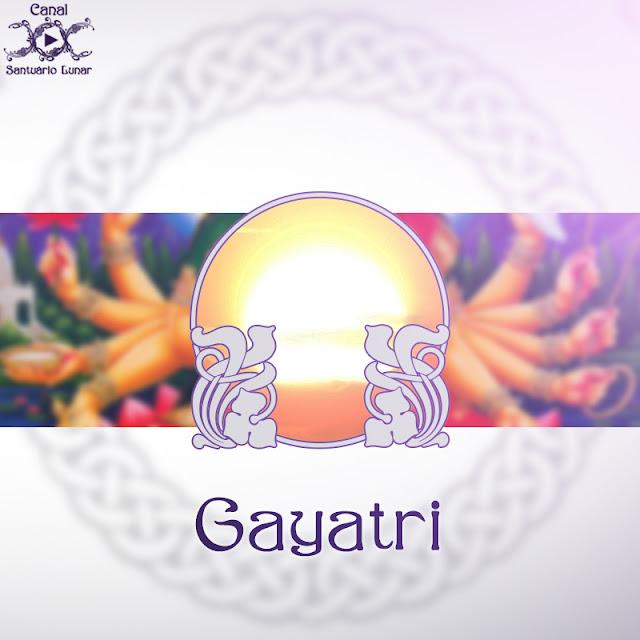 Gayatri - A Deusa personificação do mantra | Wicca, Magia, Bruxaria, Paganismo